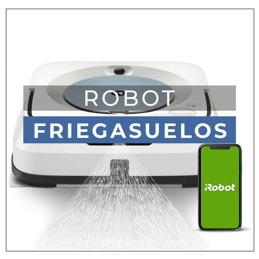 Robot aspirador y fregasuelos