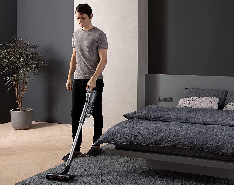 aspirador escoba para alfombra