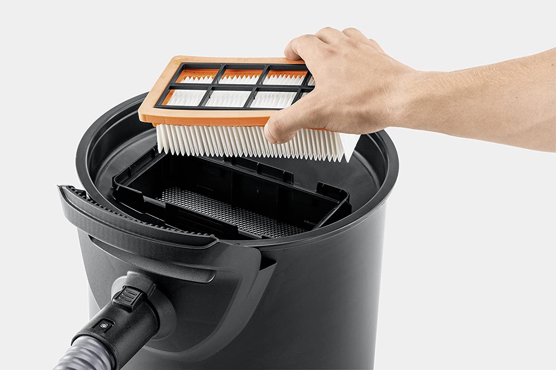 filtro aspirador de cenizas