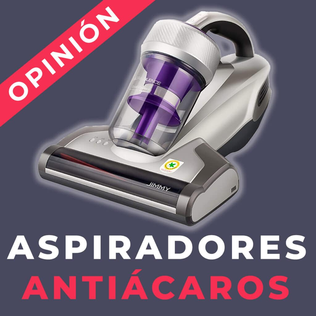 aspirador antiacaros